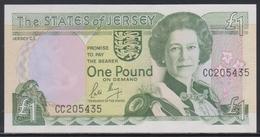 Jersey 1 Pound (ND 1989) UNC - Jersey