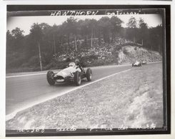 < Auto Voiture Car > Retirage 9 X12 De Plaque Photo De Verre F1 Hawthorn Les Essarts 1953 - Reproductions