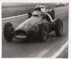 < Auto Voiture Car > Retirage 10 X 13 De Plaque Photo De Verre F1 Reims 1953 - Reproductions
