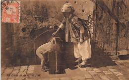 Judaica - TUNISIE - Dans Le Quartier Juif - Ed. Lehnert Landrock 28. - Judaika