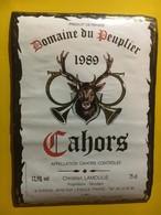 8013 - Domaine Du Peuplier 1989 Chasse - Cahors