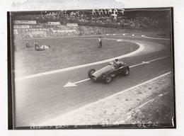 < Auto Voiture Car > Retirage 9 X 12 De Plaque Photo De Verre F1 Reims 1953 - Reproductions