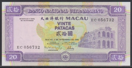 Macau 20 Patacas 01.09.1996 UNC - Macau