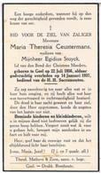 Dp. Ceustermans Maria. Wed. Stuyck Egidius. ° Geel 1856 † Geel 1937 - Religion & Esotérisme