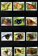 NIUAFO'OU, 2012, BUTTERFLIES 12v. MNH** - Butterflies