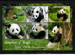 TONGA, 2013, PANDAS.S/S, MNH** - Stamps
