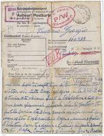 CARTOLINA POW CAMP STALAG II-D STARGARD POLEN 1944 X STALA VIII-B Da RIESI - Posta Militare (PM)