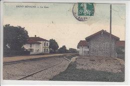 SAINT-BENIGNE - LA GARE - 20.09.08 - Altri Comuni