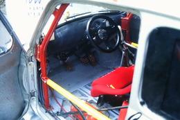 DIAPOSITIVA  SLIDE   AUTO FIAT 500 PROTO SLALOM ALPE DEL VICERE' 2001 - Diapositives (slides)