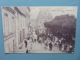 JONZAC-Cavalcade Du 5 Septembre 1910 (défilé) -(TRES RARE) - Jonzac