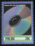 Compact Disc Goes Into Production, Computer, MNH Palau - Informatik