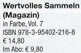 Magazin Heft 7/2017 Wertvolles Sammeln MICHEL Neu 15€ With Luxus Information Of The World Special Magacine Germany - Bücher, Zeitschriften, Comics