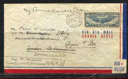 USA, 1941,  To Switzerland / Gryon S. Bex - Etats-Unis