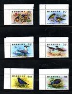 BARBUDA, 1976, BIRDS,  6v. MNH** - Birds