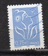 2005 Marianne De Lamouche 0.75€  N°YT 3737 - 2004-08 Marianne (Lamouche)