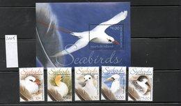 NORFOLK, 2005, SEA BIRDS,5v.+M/S, MNH** - Birds