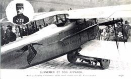 & Guynemer Et Son Appareil - Mort Au Champ D'Honneur , écrite Et Signée Par Le Général Anthoine - 1914-1918: 1ra Guerra