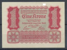 Österreich -Ungarische Bank   Eine Krone  1922 - Oesterreich