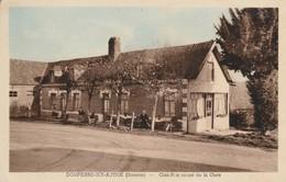 80 - DOMPIERRE SUR AUTHIE - Café Restaurant De La Gare - France