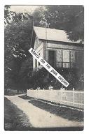 LES PETITES DALLES  Carte-photo Villa Les Aubépines  (recto-verso) - Autres Communes