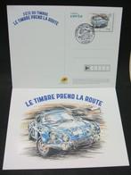 FRANCE CP Entier Postal ALPINE RENAULT A110 Oblitération 1er Jour Fête Du Timbre 2018 - FDC
