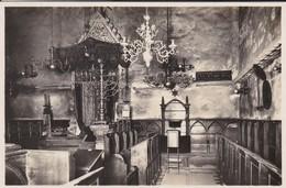 TCHEQUIE--PRAG--PRAGUE--bundeslade Und Rabbinersitz In Der Altneusynagoge---voir 2 Scans - Judaisme