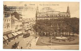 Oostende Tram Tramway Place Marie José Et Rue Adolphe Buyl - Oostende