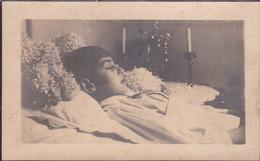 Bidprentje  Sterfbed-  De Vocht Michael ° Antwerpen 27.12.1915-  + Antwerpen 1921 Foto - Religion & Esotérisme