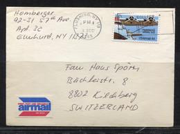 USA, 1985 To Switzerland / Kilchberg - Covers & Documents