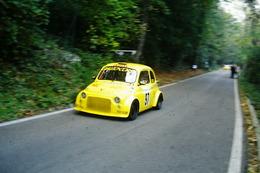 DIAPOSITIVE  SLIDES   AUTO FIAT 500 PROTO SLALOM ALPE DEL VICERE' 2001 - Diapositives (slides)