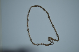 Chaine De Montre Ancienne - Collares/Cadenas