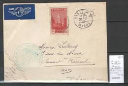 Maroc - Lettre Avion De Rabat En Franchise Militaire 1942 - Surtaxe Aérienne - Marokko (1891-1956)