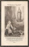 DP. MARIE FOSSIER ° RAMEGNIES-CHIN 1860 - + MONS 1897 - Religion & Esotérisme