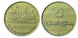 03075 GETTONE JETON TOKEN MACHINE HOLLIWOOD CARMINE CINEMAS GEORGIA COLUMBUS - USA