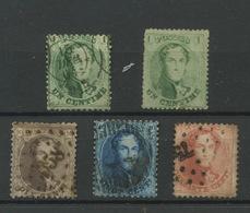 Timbres Sans Défaut 13-16  Cote 231,-E - 1863-1864 Medallions (13/16)