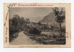 CPA Le Village De Beure Près Besançon Pub Restaurant Fleuret 1904 - France
