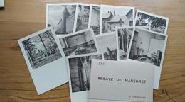 Pochette De 12 Cartes Postales De L'abbaye De Maredret. Anhée. Maredsous. - Anhée