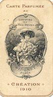 480   Carte Parfumée  Création 1910 - Vintage (until 1960)