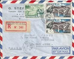 MADAGASCAR  G STEFANI   DIEGO SUAREZ  Par  AVION  1960 - Madagascar (1960-...)