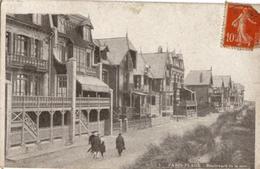 LE TOUQUET  PARIS PLAGE  -  Le Boulevard De La Mer  -  (1909) - Le Touquet