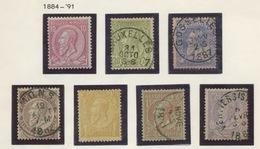 Entre 38 Et 52  Ø  Cote 180,-E    Timbres De Bonne Qualité - 1883 Léopold II