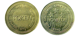 03104 GETTONE JETON TOKEN DUBAI ARCADE NO CASH VALUE FOR AMUSEMENT ONLY - Casino