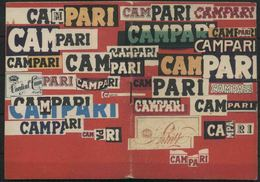 1965 Calendarietto Campari,copertina  Di Bruno Munari Nuovo Ottime Condizioni - Calendari