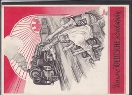 """Postarte """" Unsere Deutsche Reichsbahn """"  1937 - Allemagne"""