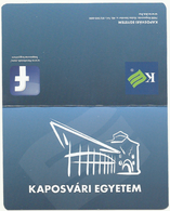 Hungary, Kaposvar, University Ad, 2018. - Calendriers