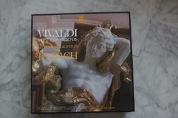 VIVALDI SEPT CONCERTOS ET LEUR TRANSCRIPTION PAR J.S BACHS COFFRET 3 LP  DE 19?? VALEUR + - Classical