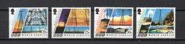 ASCENSION N° 673 à 676 NEUFS SANS CHARNIERE COTE 7.00€ ESPACE  STATION RELAIS - Stamps