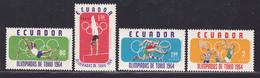 EQUATEUR N°  722, AERIENS N° 433 à 435 ** MNH Neufs Sans Charnière, TB (D5927) Sports, Jeux Olympiques De Tokio - Ecuador