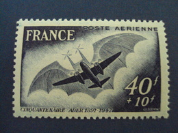 """PA- 1946-1949- Timbre N°  23  """"cinquantenaire Ader""""  Neuf     -  Cote    2   Net  0.65 - 1927-1959 Neufs"""