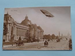 """PARIS (152) Le Dirigeable """" La Republique """" évoluant Au-dessus De L'Avenue Nicolas II (ND Phot) Anno 1909 ! - Charleville"""